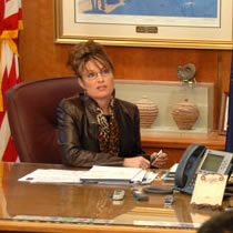 Alaska Governor Sarah Palin Friday announced that five companies have submitted applications for the exclusive right to build a natural gas pipeline to transport North Slope gas to market.
