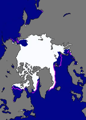 After shrinking to its smallest summer extent in modern times, the pack ice of the Arctic Ocean has slowly begun to refreeze.