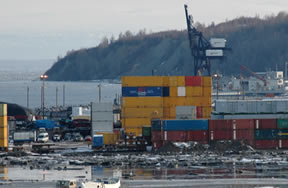 In the Public Records Act request, AkPIRG wants access to all emails between Bill Sheffield, Director of the Port of Anchorage, and members of the entire Alaska Congressional Delegation.