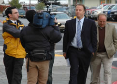 Former Alaska state Rep. Tom Anderson received a stiff sentence of five years in prison today for his conviction on seven federal counts of conspiracy and bribery.