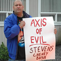 A citizen watchdog group is asking that Alaska Senator Ted Stevens be removed from his committee assignments in light of the criminal investigations by the FBI and IRS.